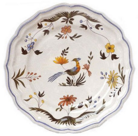 Dinner Plate  sc 1 st  The Whitney Shop & Oiseaux de Paradis : The Whitney Shop of New Canaan Connecticut ...