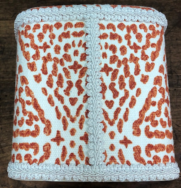 Coral Dot Tissue Holder