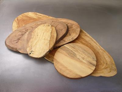 "10"" Round Spalted Board"