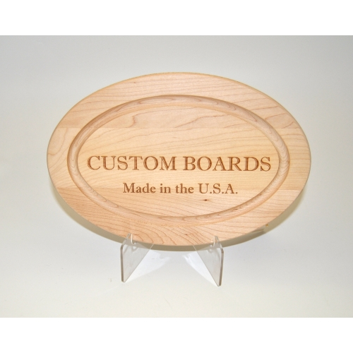 "18"" Oval Personalized Board"